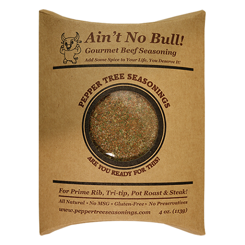 4 oz Aint No Bull Beef Seasoning Bottle Refill