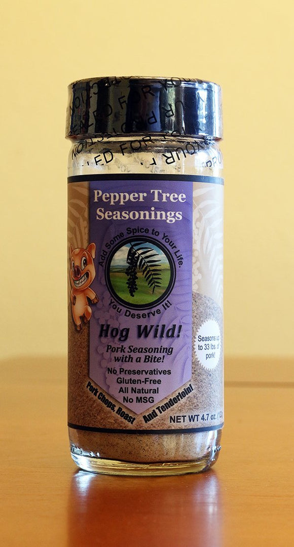 Hog Wild Pork Seasoning In Glass Bottle