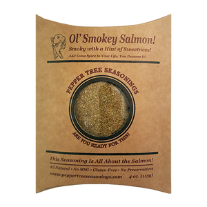 4 oz Ol Smokey Salmon Seasoning Bottle Refill