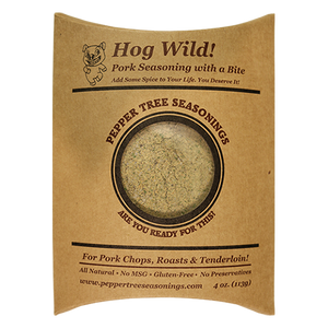 4 oz Hog Wild Pork Seasoning Bottle Refill