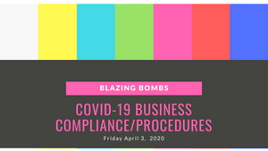 COVID-19 Business Compliance/Procedures