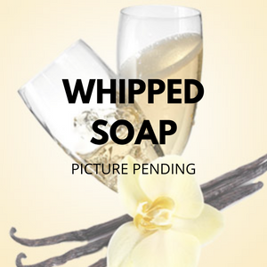 Vanilla Champagne Whipped SOAP