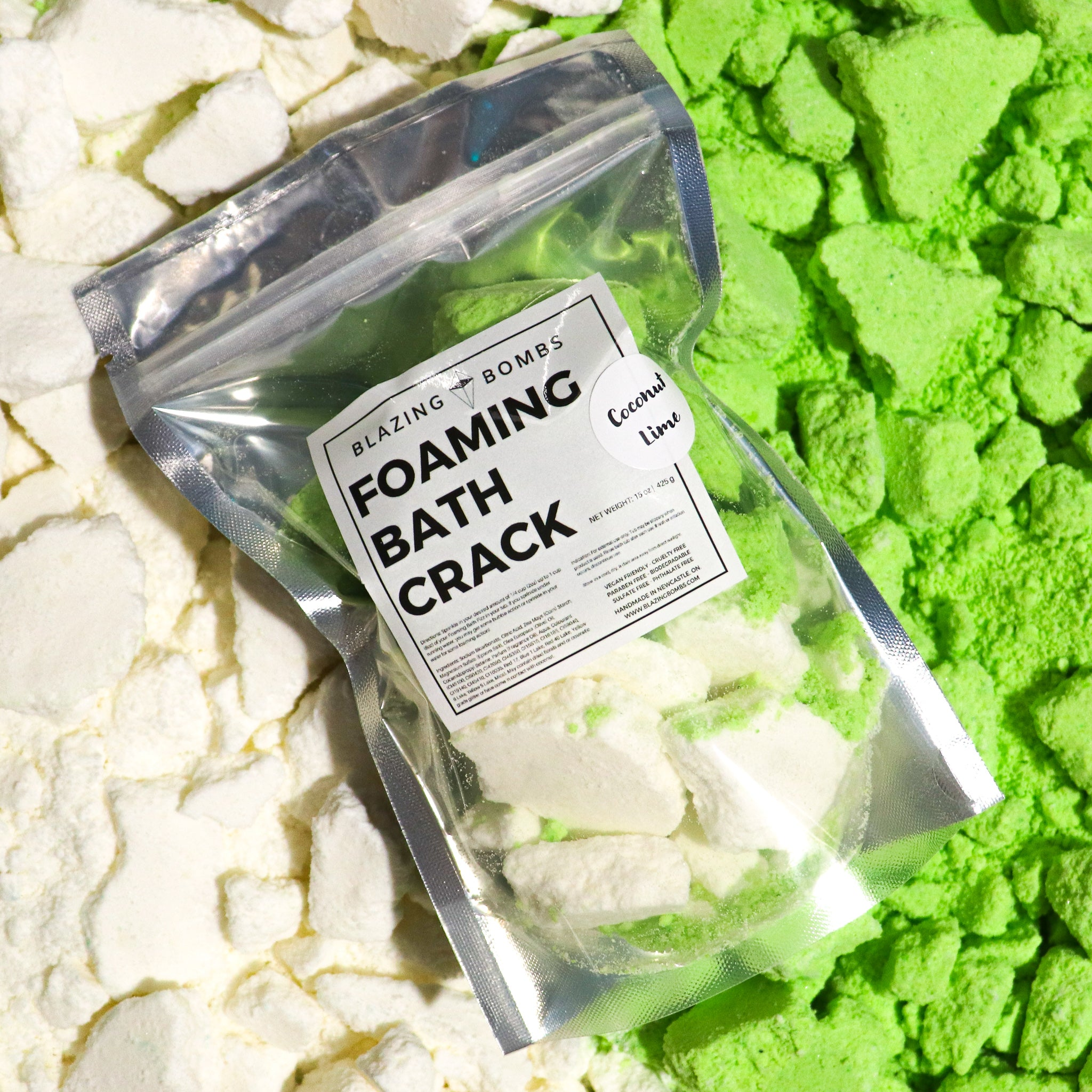 Coconut Lime Bath Crack