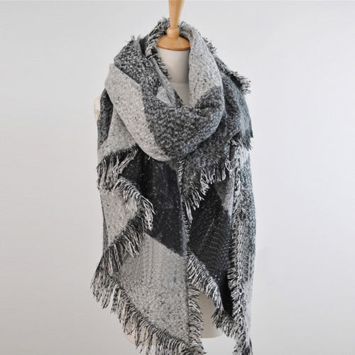 Winter Warm Women Long Scarf