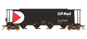 Rapido Trains   3800 cu. ft. Covered Hopper CP Small Multimark #387380