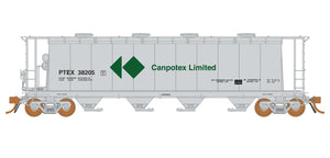 Rapido Trains   3800 cu. ft. Covered Hopper PETX Canpotex #38492