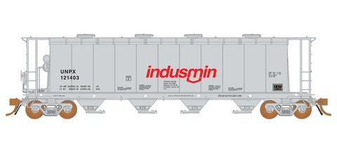 Rapido Trains   3800 cu. ft. Covered Hopper UNPX Procor Indusmin #121430