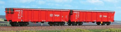 ACME 45019  2 piece set:  Sliding roof gondolas, DB AG Cargo - The Scuderia 46