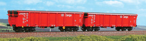 ACME 45068  2 piece set:  Sliding roof gondolas, DB AG Cargo - The Scuderia 46