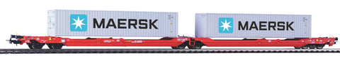 Piko 54775  T3000e Articulated pocket wagon, DB AG