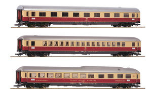 "Roco 74135  3 piece set 1: Passenger coaches ""Rheingold"", DB"