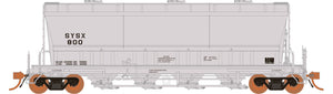 Rapido Trains  ACF PD3500 Flexi Flo: US Systems Inc SYSX 941H #800