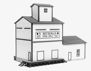 American Model Builders 611  N. Hitzeman's Feed Mill - The Scuderia 46