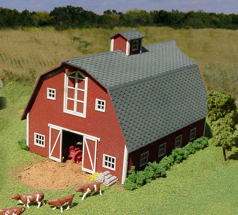 American Model Builders 619  Country Barn - The Scuderia 46