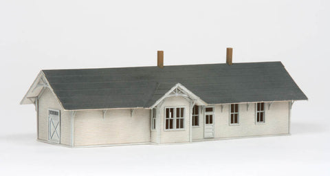 American Model Builders 627  Union Pacific One Story Depot - The Scuderia 46
