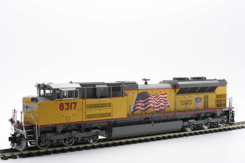 Athearn Genesis G68661  HO SD70ACe w/DCC & Sound, UP/Red Sill Stripe #8317 - The Scuderia 46
