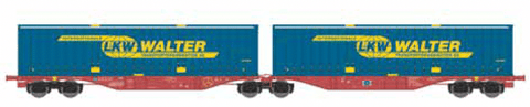 ACME 40293  Tourax Container Wagon Type Sggmrss '90 - The Scuderia 46