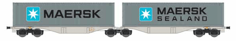 ACME 40362  AAE Container Wagon Type Sggrss 80' - The Scuderia 46