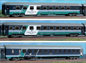 ACME 55146  InterCity 3 couchette set Notte Trenitalia, FS - The Scuderia 46