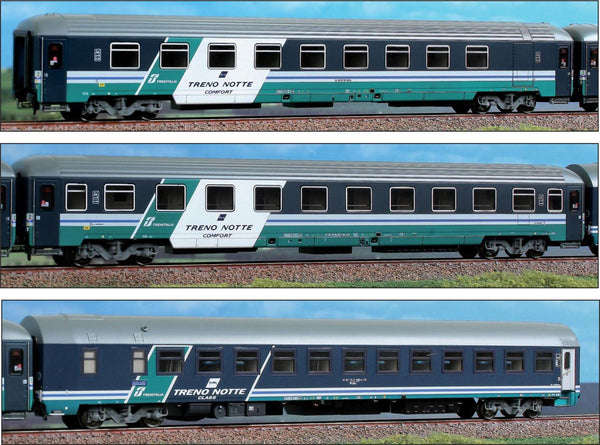 "ACME 55146  InterCity 3 couchette set ""TRENO Notte COMFORT"" Trenitalia, FS - The Scuderia 46"