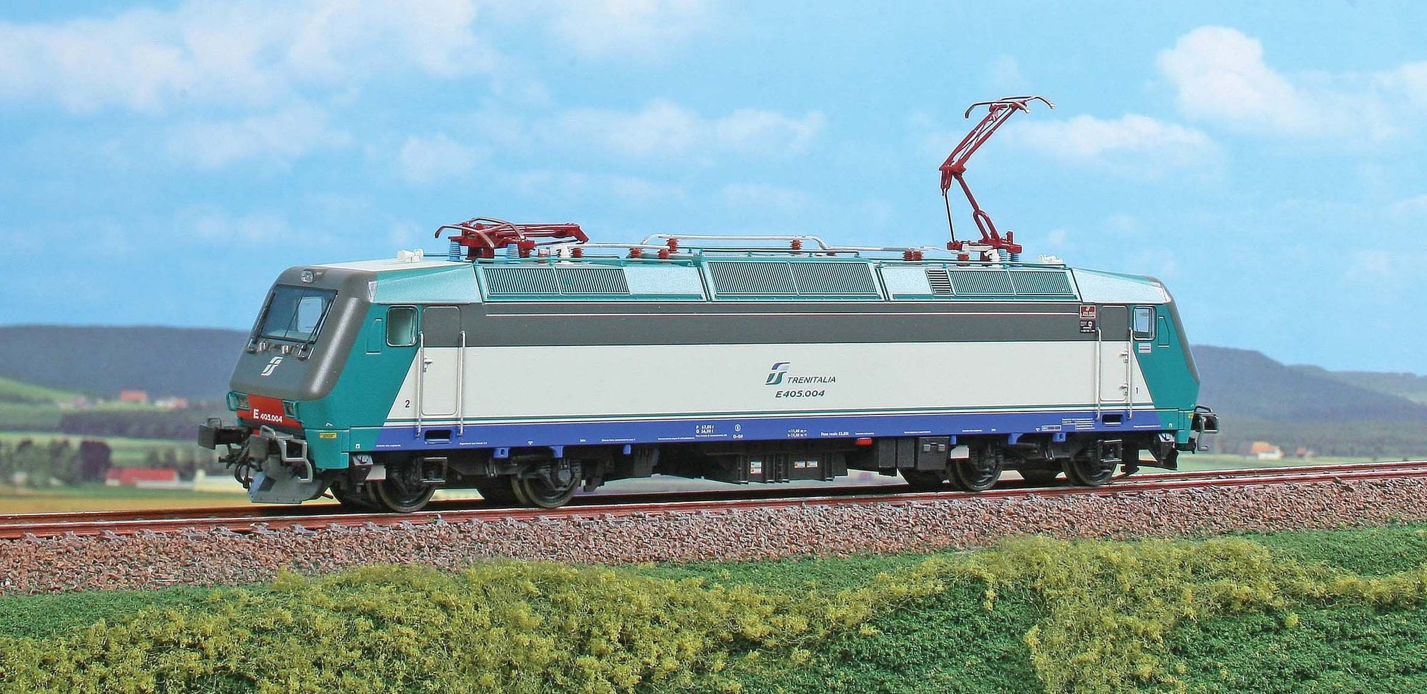 ACME 60173 E.405 FS Electric Locomotive - The Scuderia 46