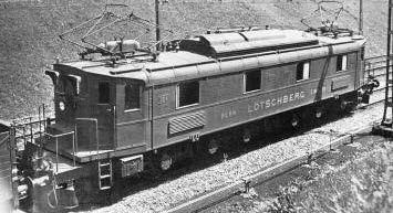 ACME 60530 Electric Locomotive Ae 6/8 BLS - The Scuderia 46