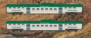 ACME 70086 TRENORD REGIONAL Passenger Set - The Scuderia 46