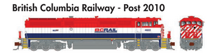 Rapido Trains GE Dash 8-40CM British Columbia Railway - Post 2010 - The Scuderia 46