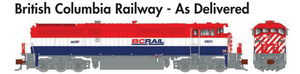 Rapido Trains GE Dash 8-40CM British Columbia Railway - As Delivered - The Scuderia 46