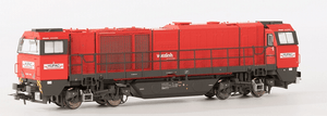 B-Models 3032.02  HUPAC G2000 Diesel Locomotive - The Scuderia 46