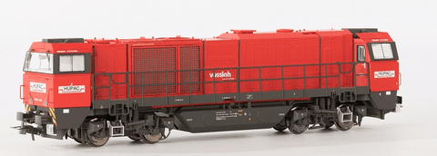 B-Models 3032.01  HUPAC G2000 Diesel Locomotive - The Scuderia 46