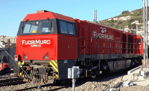 B-Models 3035.01  FuoriMuro G2000 Diesel Locomotive - The Scuderia 46