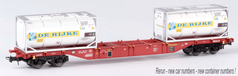 B-Models 54104  Touax Container Wagon - The Scuderia 46