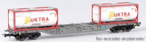 B-Models 54106  AAE Cargo Container Wagon - The Scuderia 46