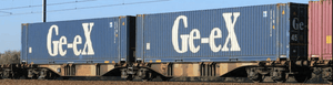 "B-Models 55102  Container Cars Sggmrss 90 ""GE-EX"" - The Scuderia 46"