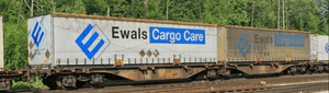 "B-Models 55104  Container Cars Sggmrss 90 ""EWALS CARGO CARE"" - The Scuderia 46"