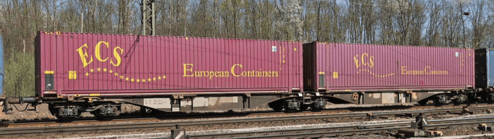 "B-Models 59100  Container Cars Sggmrss 90 ""ECS"" - The Scuderia 46"