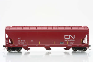 InterMountain Railway 47091  Wisconsin Central - CN  ACF 4650 Cu. Ft. 3-Bay Hoppers