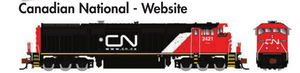 Rapido Trains GE Dash 8-40CM Canadian National - Website - The Scuderia 46