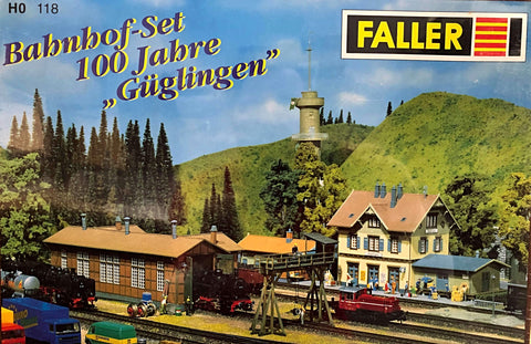 "Faller 118  100 Years ""GÜGLINGEN"" Railway Station Set - The Scuderia 46"
