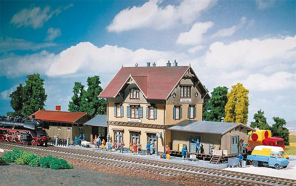 "Faller 2107  Train Station ""GUGLINGEN"" - The Scuderia 46"