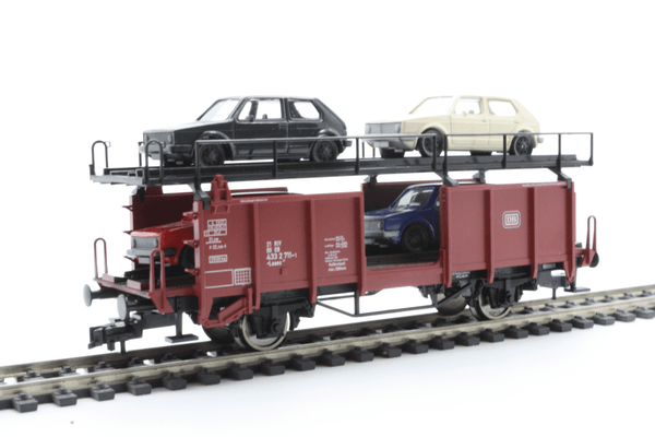 Fleischmann 5225 Double-deck car transporter of the DB - The Scuderia 46