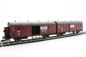 Fleischmann 5306  Two coupled box wagons, of the DRG - The Scuderia 46