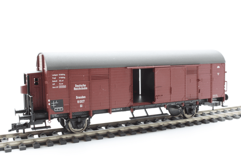 Fleischmann 5309 Box goods wagon with brakeman's cab, of the DRG - The Scuderia 46
