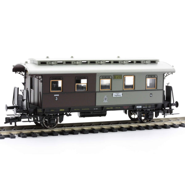Fleischmann 5851  3rd/4th Class Passenger Wagon, K.P.E.V - The Scuderia 46