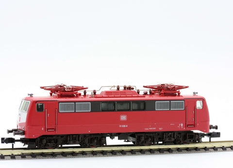 Fleischmann 7347  Electric Locomotive of the DB, class 111 - The Scuderia 46