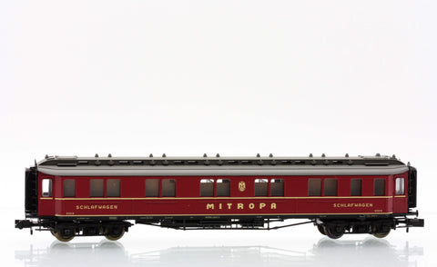 Fleischmann 8078  Sleeping coach, type WL 6ü, of the Mitropa company. - The Scuderia 46
