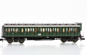 Fleischmann 8086  3rd class compartment car type C4 Pr04 of the DRG - The Scuderia 46