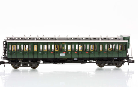 Fleischmann 8086  3rd class compartment car type C4 Pr04 of the DRG