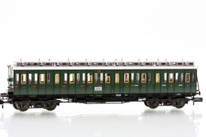 Fleischmann 8087  3rd class compartment car type C4 Pr04 of the DRG - The Scuderia 46